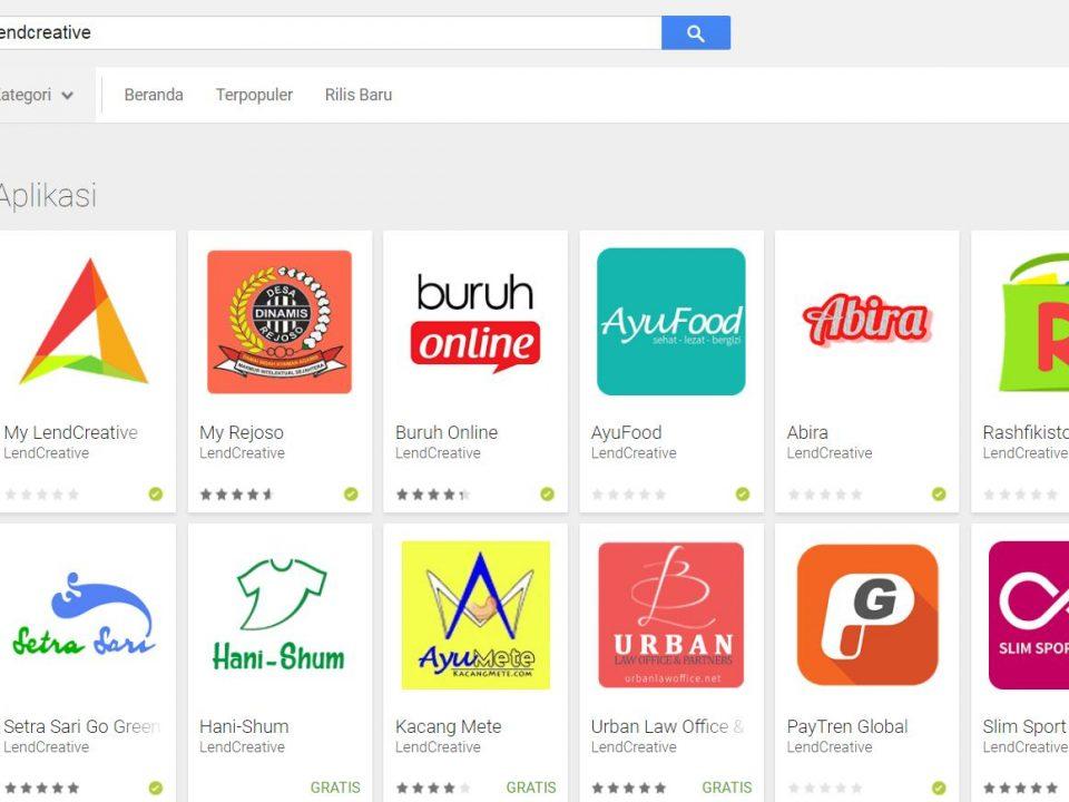 Jasa Pembuatan Aplikasi android dan Jasa Upload ke Playstore Jakarta Timur