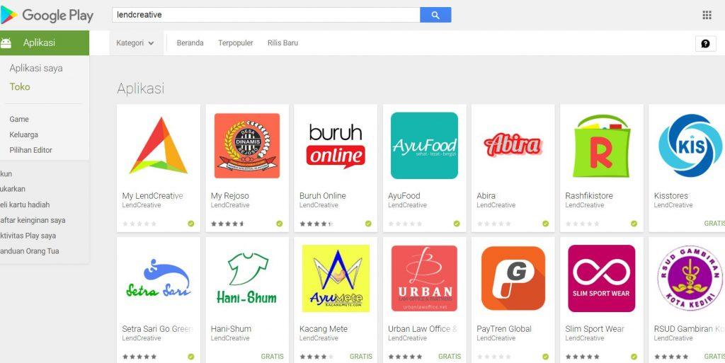Jasa pembuatan Webview dan Upload ke Playstore Jakarta Selatan