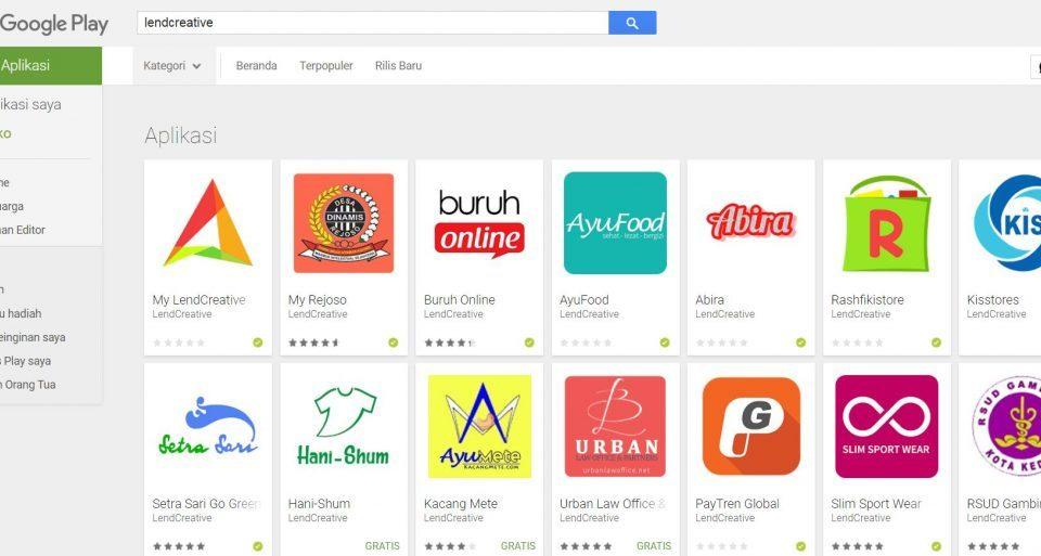 Jasa pembuatan Webview dan upload ke Playstore Jakarta Timur